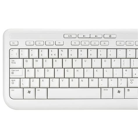 Microsoft Wired Keyboard 600 microsoft wired keyboard and mouse wired desktop 600 white ebay