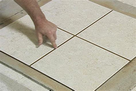how to grout tile flooring how to grout ceramic tile see the gap how to