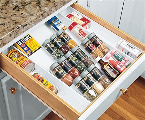 Spice Jar Drawer Insert by 16 Clever Ways To Store Organize Your Spices