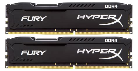 Kingston Hyperx Fury Ddr4 2400 8gb Hx424c15fbk2 8 Black1 kingston 8gb 2400mhz ddr4 hyperx fury fekete kit 2 x 4gb