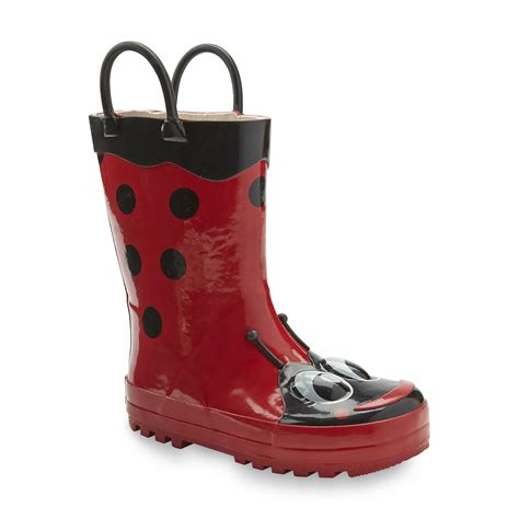 ladybug boots western chief toddler youth s wellies boots