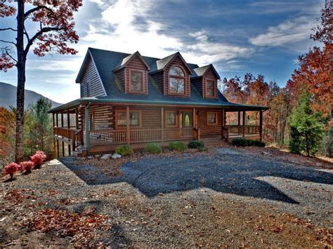log cabin for sale in hiawassee