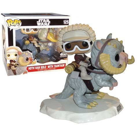 Funko Pop Original Han Wars funko mega pop wars hoth han with tauntaun 125