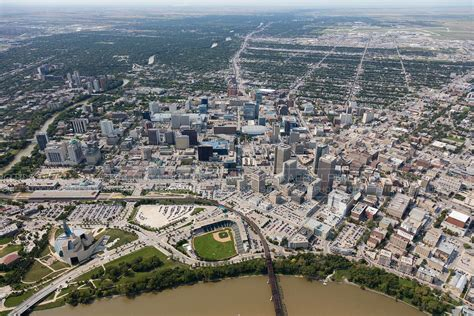 Find Winnipeg Aerial Photo Winnipeg Manitoba
