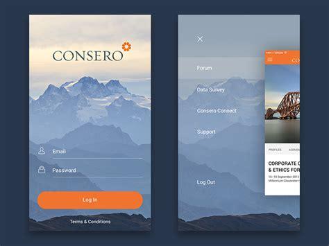 design inspiration apps login sign up inspiration for mobile apps muzli design