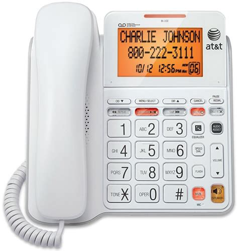 at t 4940 phone with answering system 40db hearing impaired