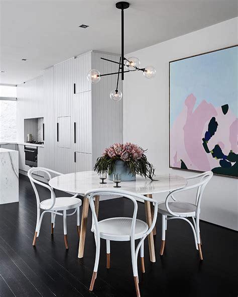 Meja Kaca Untuk Tv 32 model meja makan minimalis terbaru 2018 kayu kaca