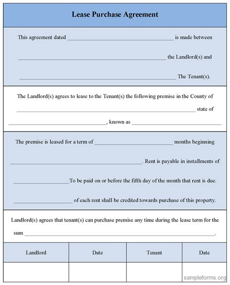 lease purchase agreement template sle security deposit receipt template png memes