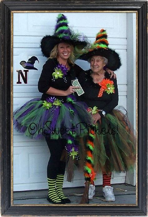 deluxe bewitched halloween costume adult tutu witch