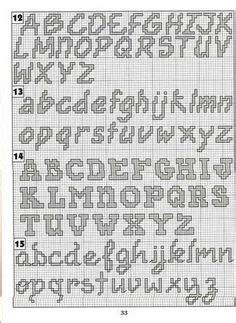 abecedario en punto de cruz para imprimir 1000 images about punto de cruz abecedarios on pinterest