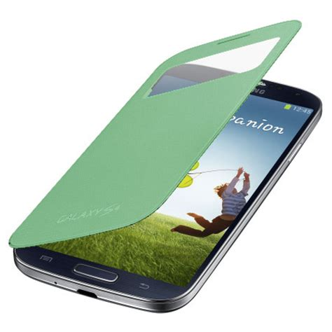 Flip Cover Original For Iphone 4g4s S View cover s view originale samsung per galaxy s4 verde lime