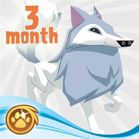 Animal Jam Arctic Wolf Gift Card - membership animal jam wiki fandom powered by wikia