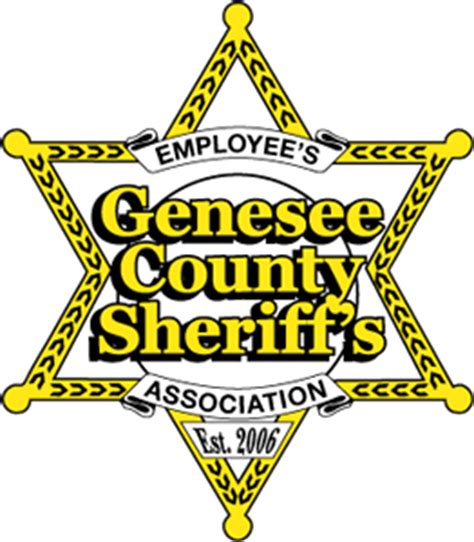 copshop ny genesee county sheriff patch