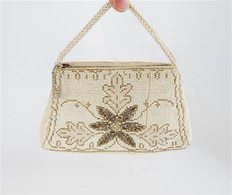 antique beaded purses antique beaded purse white beaded purse flapper purse