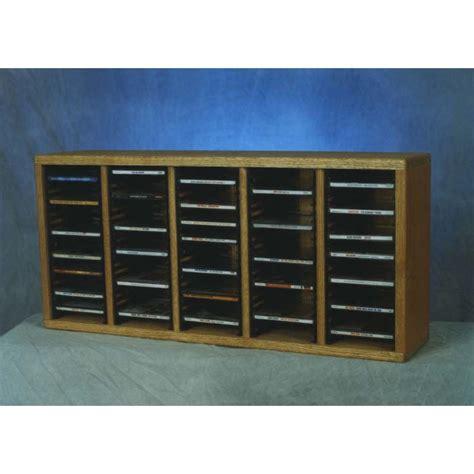 Solid Wood Cd Rack by Wood Shed Solid Oak Cd Rack Tws 509 1