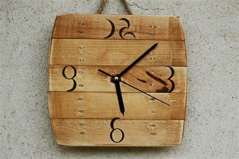 Wood Clocks Handmade - image gallery handcrafted wood wall