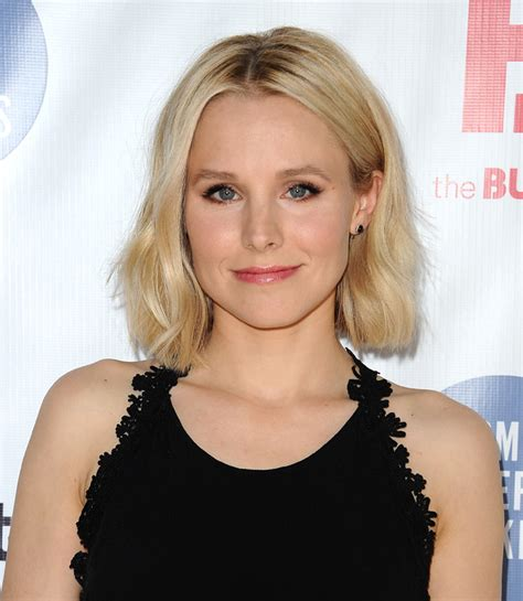 the quot lob quot meet hollywood s favourite summer cut again lob long hairstyles kristen bell easy to manage short