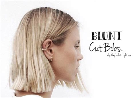 show me all blunt cut bobs the blunt cut bob is everything societe magazine new