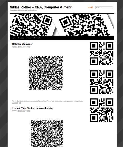qr code layout ein neuer anstrich f 252 r den blog niklas rother computer