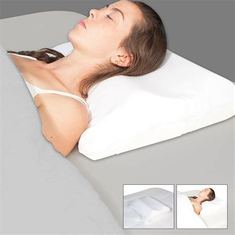 Sleeping With No Pillow by Science Of Sleep Snore No More Pillow Highway475