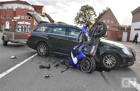 Motorrad Fahren Nach Unfall motorradfahrer nach unfall in lingen au 223 er lebensgefahr