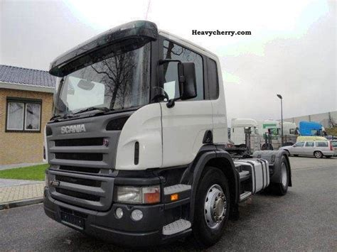 scania p380 specification scania p380 cp16 2005 standard tractor trailer unit photo