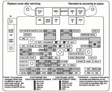 chevy avalanche 1500 fuse box get free image about wiring diagram my 2004 avalanche 1500 z71 has intermittent electrical problems everything just quits like the