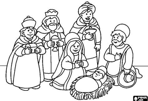 dibujos de navidad para colorear e imprimir reyes magos dibujos de los reyes magos 161 para colorear pequeocio