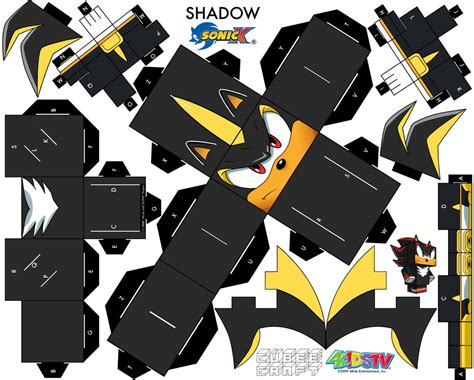 Android Papercraft - shadow android cubeecraft by augustelos on deviantart