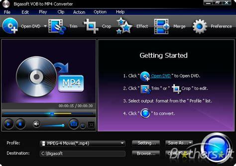 format dvd ke mp4 download free bigasoft vob to mp4 converter bigasoft vob