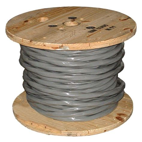 6 electrical wire for sale southwire 500 ft 2 2 2 4 gray solid 3e al ser cable