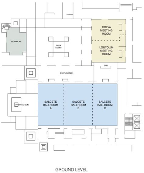 Typical Hotel Room Floor Plan by Conference In Goa Park Hyatt Goa Resort And Spa Best