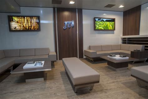 Cigar Room Ventilation by Jti Refurbishes Geneva Lounge With Cutting Edge