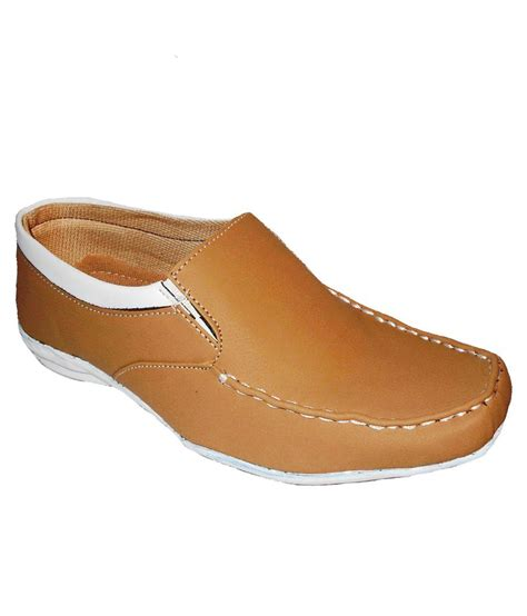 buy aaron yellow faux leather formal shoes for