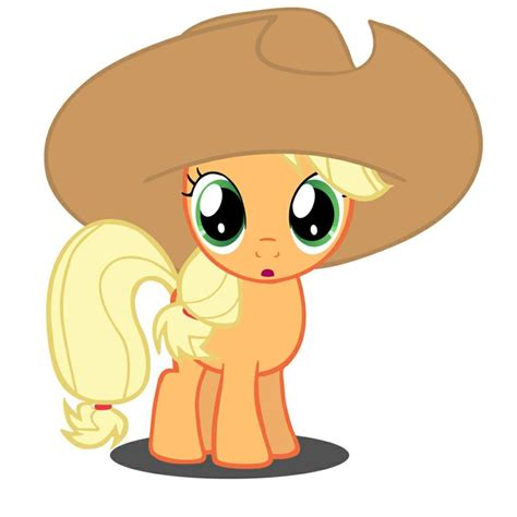 imagenes jack bebe filly applejack with her hat so cute i love pictures of