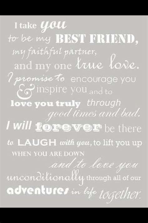sle of vows friendship quote this would be beautiful for a