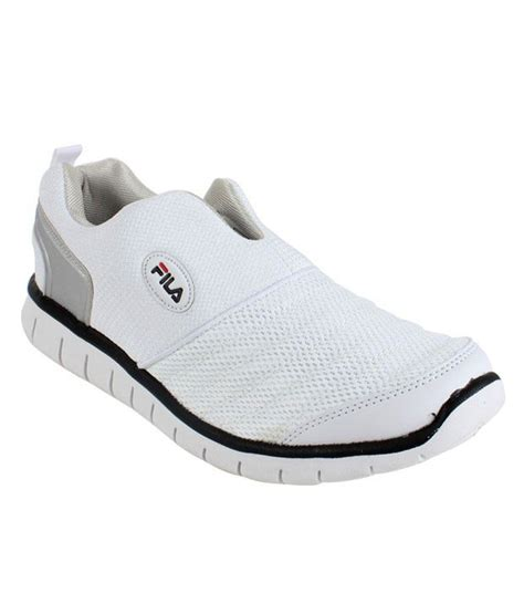 fila smash lite white black running shoes price in india