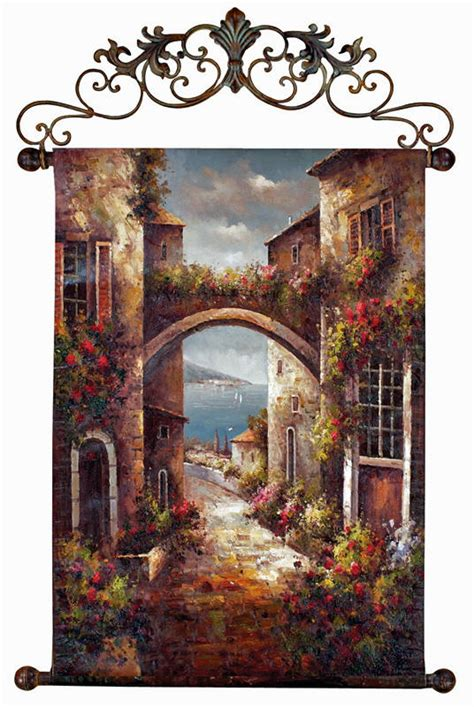 tuscan kitchen decor wall: decorating in tuscan style spruce up your walls with the archway to