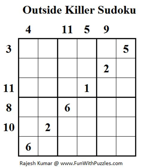 printable outside sudoku related keywords suggestions for killer sudoku puzzles
