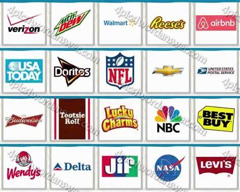 logo quiz mangoo answers level 26 logo quiz usa brands level 21 40 answers 4 pics 1 word