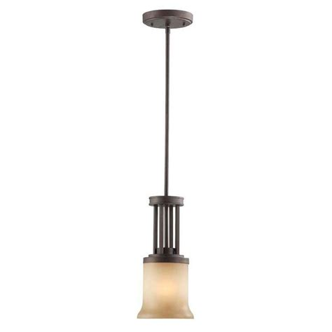 kenroy home drop 1 light bronze mini pendant 93485wbz