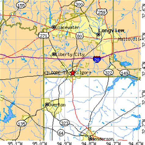 kilgore texas map kilgore tx pictures posters news and on your pursuit hobbies interests and worries
