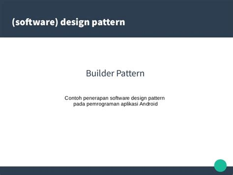 android pattern software android software design pattern