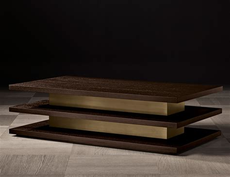 Nella vetrina ilo luxury italian coffee table in mocha oak wood coffee table inspirations