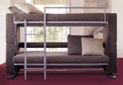 transforming couch into bunk bed mobelform doc sofabed padstyle interior design blog