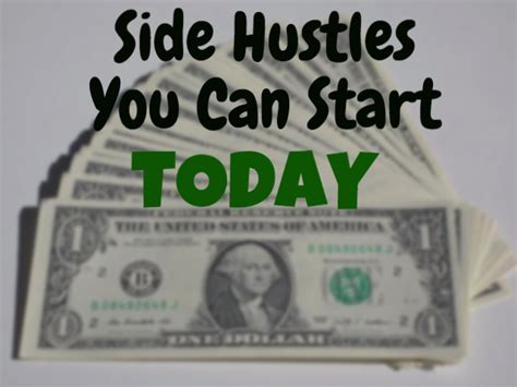 5 Side Hustles You Can Side Hustles You Can Start Today The Outlier Model The