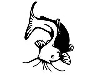 Flat Head Wall Stickers fishing decal outdoorsman fish sticker catfish 1500x1200 jpeg