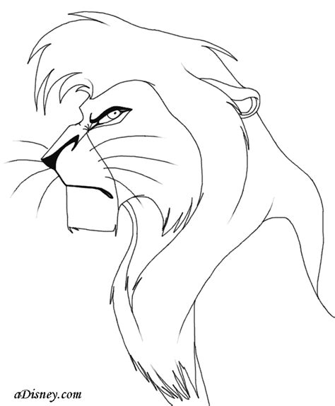 lion king 2 kovu coloring pages kovu coloring pages coloring pages