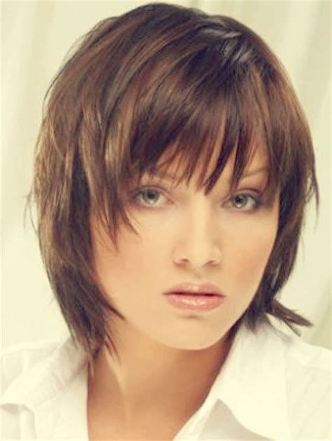 layered hairstyles with bangs straight hair short short straight hairstyles for 2013 2014 short