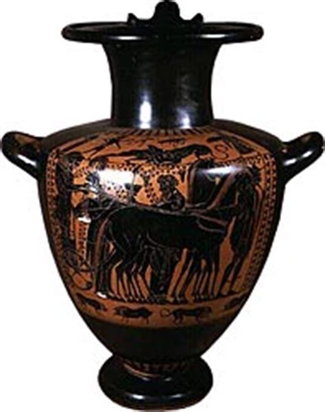 Hydria Vase by World Myths And Legends In Minneapolis Institute Of Arts